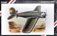 Special Hobby #72019 Lockheed Mod.9 Orion