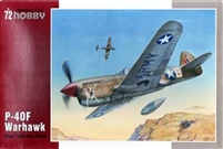 Special Hobby #72155 1/72 P-40F Warhawk Short Tails Over Africa