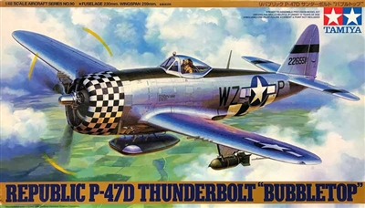 Tamiya #61090 1/48 Republic P-47D Thunderbolt 'Bubbletop'