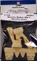 True Details #32401 1/32 Martin Baker Mk-7 Ejection Seats