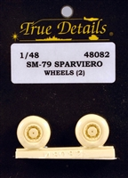 True Details #48082 1/48 Brewster F2A Buffalo Wheel