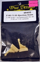True Details #48402 1/48 F-80 / T-33 Ejection seats