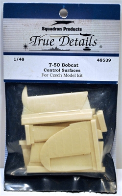 True Details #48539 1/48 T-50 Bobcat 'Bamboo Bomber' Control Surfaces