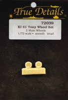 True Details #72039 1:72 Ki-61 Tony Wheels
