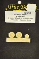 True Details #72043 1/72 Arado 234C Wheel Set