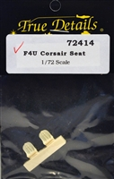 True Details #72414 1/72 F4U Corsair Seat