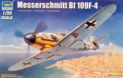 Trumpeter 02292 Mess Bf 109F-4