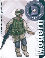 Think One Eighty #35001 1/35 US Infantryman OIF