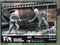 Verlinden Productions #1737 1/35 US Marines Set I - Pacific WWII