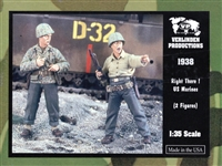Verlinden Productions #1938 1/35 Right There! U.S. Marines