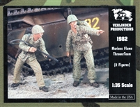 Verlinden Productions #1982 1/35 Flame Thrower Team - US Marines WWII