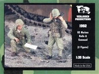 Verlinden Productions #1992 1/35 US Marines Radio & Command