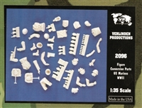 Verlinden Productions #2096 1/35 Conversion Parts US Soldiers - WWII