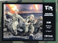 Verlinden Productions #2130 1/35 US Marines Charge!