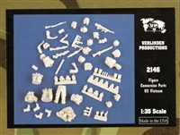 Verlinden Productions #2146 1/35 Conversion Parts US Soldiers - Vietnam