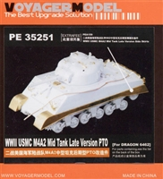 Voyager Model #35251 1/35 Sherman M4A2 Late PTO