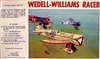 Williams Brothers  #32-121 1/32 Wedell-Williams Air Racer
