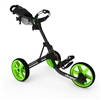Clicgear Model 3.5+ Push Cart - Charcoal/Lime