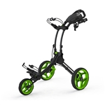 Clicgear Rovic RV1C Golf Push Cart - Charcoal/Lime
