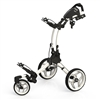 Clicgear Rovic Swivel RV1S Golf Push Cart - Arctic