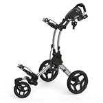 Clicgear Rovic Swivel RV1S Golf Push Cart - Silver/Black