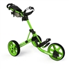 Clicgear Model 3.5+ Push Cart - Lime