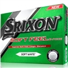 Srixon Soft Feel Soft White Golf Balls - 1 Dozen