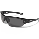 Under Armour UA Octane Sunglasses - Satin Black/Black