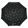 Nike 42 inch Collapsible Umbrella - Black/Silver/White