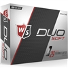Wilson Staff Duo Soft Golf Balls - 1 Dozen
