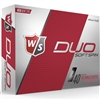 Wilson Staff Duo Soft Spin Golf Balls - 1 Dozen