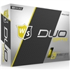 Wilson Staff Duo Soft Optix Yellow Golf Balls - 1 Dozen