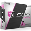 Wilson Staff Duo Soft Optix Pink Golf Balls - 1 Dozen