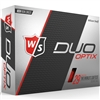 Wilson Staff Duo Soft Optix Red Golf Balls - 1 Dozen