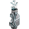 Tour Edge Lady Edge 2018 Silver/Teal Full Box Set - Cart Bag