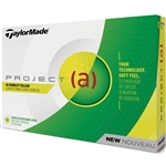 TaylorMade Project (a) Yellow Golf Balls - 1 Dozen