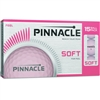 Pinnacle Soft Pink Golf Balls - 15 Pack