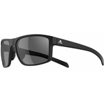 Adidas Whipstart Sunglasses - Black Shiny/Grey