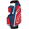 Callaway Chev Org Cart Bag - Navy/White/Red