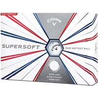 Callaway Supersoft 19 Golf Balls - 1 Dozen