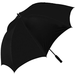 OnCourse 62 inch Windproof Umbrella - Black