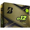 Bridgestone e12 Soft Matte Green Golf Balls - 1 Dozen