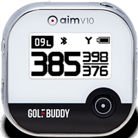 Golfbuddy aim V10 GPS Rangefinder - Chrome