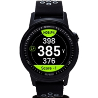 Golfbuddy aim W10 Touchscreen Golf GPS Smartwatch - Black