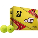Bridgestone 2019 E6 Yellow Golf Balls - 1 Dozen