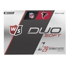 Wilson DUO Soft NFL Atlanta Falcons Golf Balls - 1 Dozen