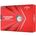 Callaway Chrome Soft 2020 Golf Balls - White