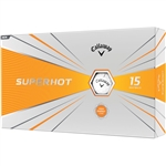 Callaway Superhot 2020 Golf Balls - White