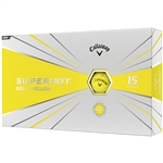 Callaway Superhot Bold 2020 Golf Balls - Yellow