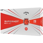 Callaway Superhot Bold 2020 Golf Balls - Red